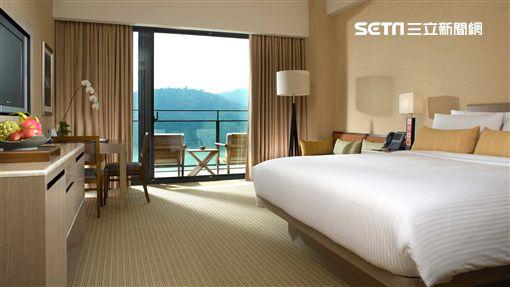 雲品溫泉酒店,飯店,日月潭,景觀客房。(圖/雲品提供)