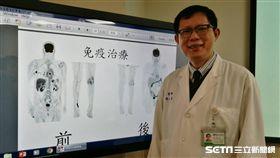 馬偕醫院血液腫瘤科癌症中心主任張義芳。(圖/楊晴雯攝)