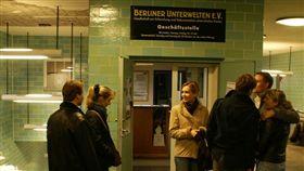 德國柏林「地下博物館」入口。the Berliner Unterwelten-Museum(圖/攝影者escpeapalumni, Flickr CC License)https://goo.gl/GhFKyw
