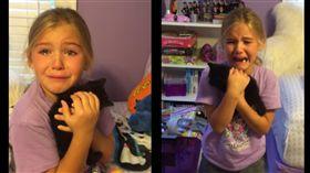 9歲小女孩愛貓去世 牠們以這種方式再度重逢