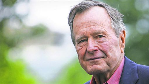 老布希http://www.usatoday.com/story/news/nation-now/2017/01/18/president-george-herbert-walker-bush-hospitalized/96707902/
