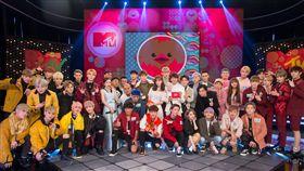 《我愛偶像》眾星雲集!18組藝人連番上陣新春特別節目 INX、UNIVERSE - 世界少年、吳思賢、廖允杰、夏和熙、管麟、KID+大飛、鼓鼓、BOXING、斯亞、MeiMei、男子漢、泰坦、MiX Creative、林進+小A辣+胖虎+老田 圖/MTV提供