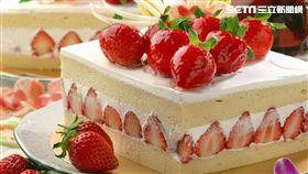 草莓季甜點。(圖/王朝大飯店)
