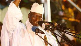 甘比亞現任總統賈梅(Yahya Jammeh)_路透