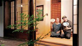 三平咖啡的日式中庭,蒐藏了楊文正對太太的愛,以及上野壽江對家鄉的思念。(圖/許家華攝影/商業周刊)