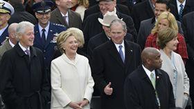 川普,美國總統,就職,就任,希拉蕊,美國 圖/美聯社
