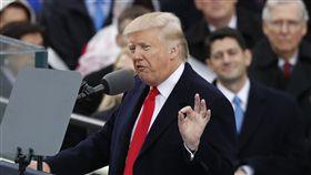 美國總統川普TRUMP就職典禮、上任(圖/路透社/達志影像)