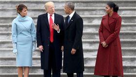 美國總統,川普,歐巴馬,蜜雪兒,梅蘭妮亞,第一夫人,禮服 圖/路透社/達志影像