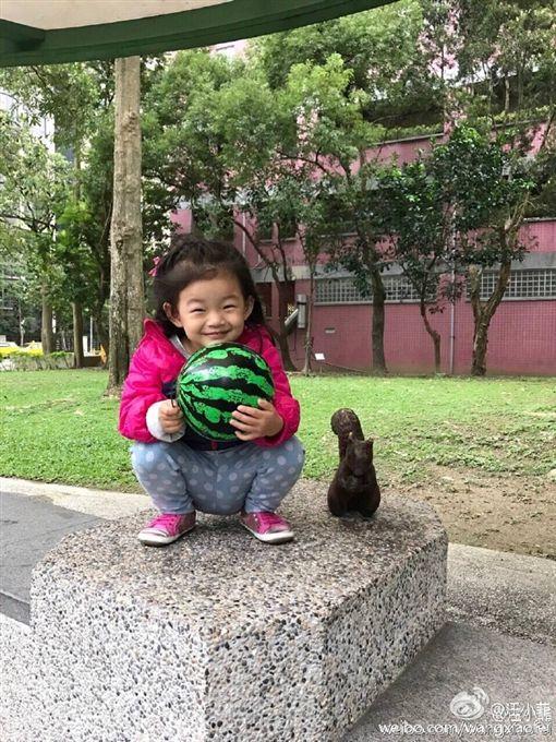 汪小菲寵女玥兒。(圖/翻攝自汪小菲微博)-http://www.weibo.com/wangxiaofei?profile_ftype=1&is_all=1#1485055381655