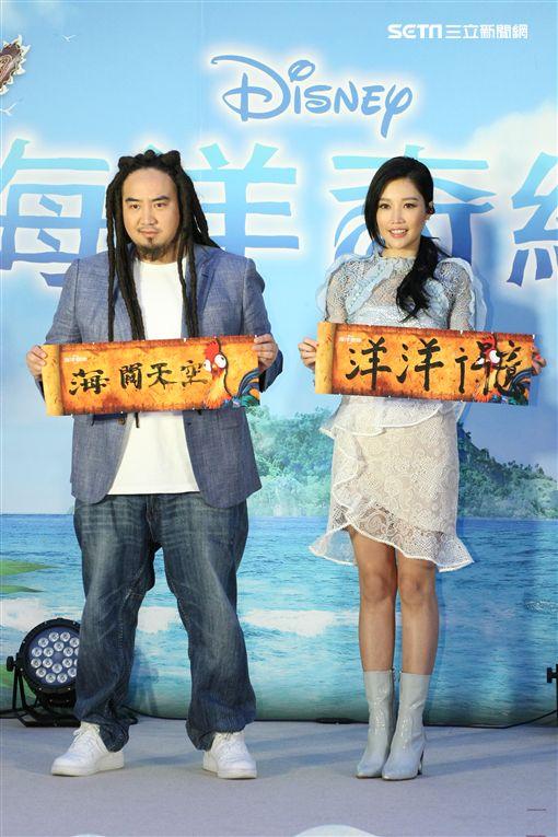 20170122-A-Lin Matzka出席「海洋奇緣」中文首映記者會
