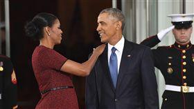 川普,歐巴馬,柯林頓,希拉蕊,蜜雪兒,梅蘭妮亞,總統,美國,夫妻 圖/美聯社/達志影像