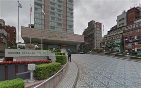 晶華酒店 google map