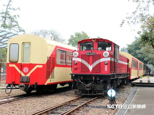 阿里山森林鐵路。(圖/台鐵提供)