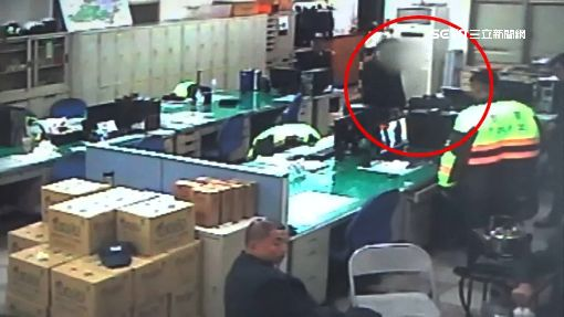 百鈔包毒丟地板 警調監視器毒男莫辯