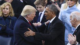 歐巴馬、川普/(圖/美聯社/達志影像)