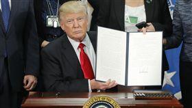美國總統川普(圖/美聯社/達志影像)