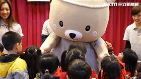 微風「熊」抱 照顧弱勢孩童歡度新年