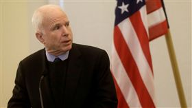 美國共和黨參議員馬侃(John McCain)/(圖/路透社/達志影像)