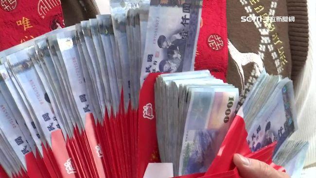 新年一到財運噴發 3生肖狂撈整疊鈔