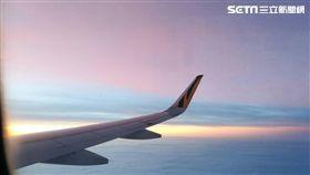 出國、旅遊、飛機(圖/楊晴雯攝)