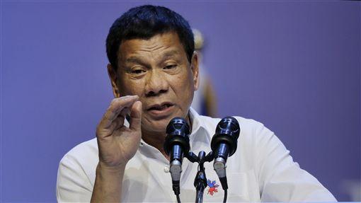 杜特蒂,Rodrigo Duterte(圖/美聯社/達志影像)
