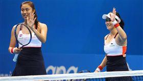 台灣女網公開賽,詹詠然,詹皓晴(圖/翻攝自WTA Taiwan Open 臺灣公開賽臉書粉絲團)