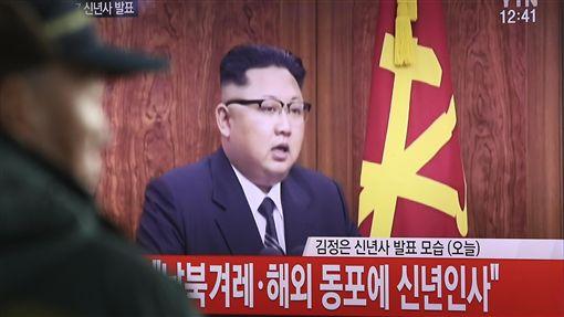 北韓、金正恩(圖/美聯社/達志影像)