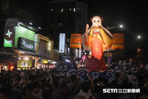 台北燈節,台北燈會,林默娘 圖/記者林敬旻攝