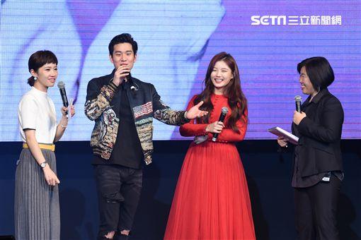 韓國新生代女星金裕貞首度來台舉辦見面會與粉絲相見,歌手周興哲驚喜站台合唱中文歌
