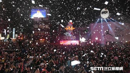 台北燈節主燈啟動--記者林敬旻攝