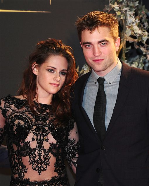 克莉絲汀史都華(Kristen Stewart)羅伯特派汀森(Robert Pattinson) 圖/達志影像