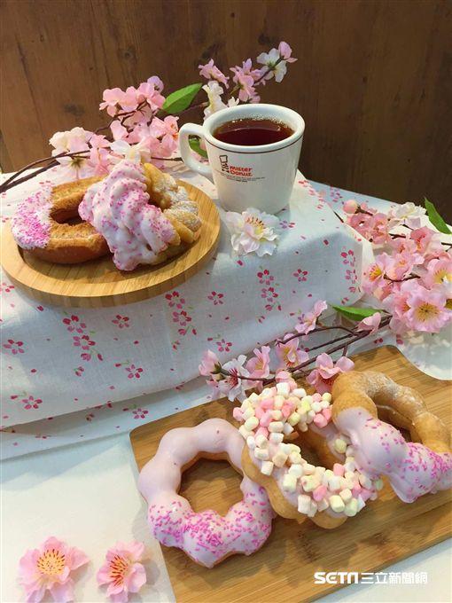 Mister Donut櫻花主題季,甜甜圈,(圖/Mister Donut提供)
