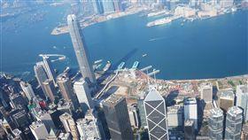 香港,旅遊,直升機,高處,愉景灣,心鎖,教堂,情侶,年節,春節,過年,美景-圖/記者施佩儀攝