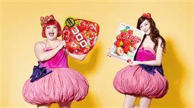 酸酸甜甜好滋味!超商搶攻草莓季 粉紅風暴席捲全台