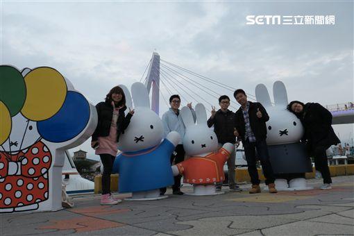 漁人碼頭好時光!米飛兔共渡元宵節、情人節