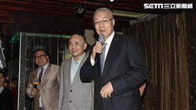海峽兩岸公共事務協會春酒,前副總統吳敦義出席致詞 圖/記者林敬旻攝