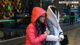 天氣,寒冷,冬天,冷氣團