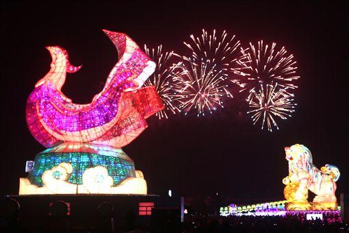 2017燈會,燈節,花燈,元宵節,台灣燈會,雲林(中央社)