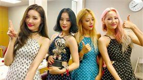 Wonder Girls已解散。(圖/翻攝自Wonder Girls官方臉書)