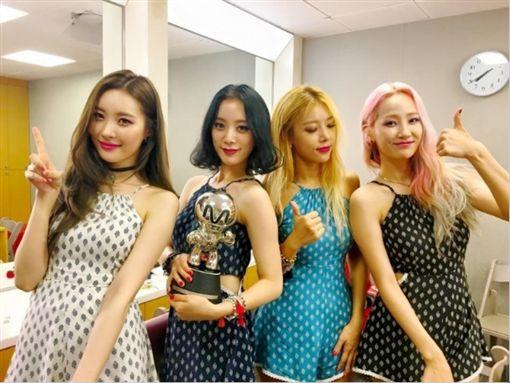 Wonder Girls推出告別單曲。(圖/翻攝自Wonder Girls官方臉書)