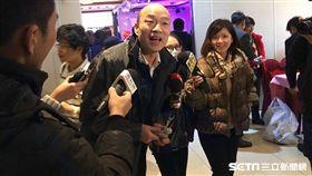 台北農產總經理韓國瑜、吳敦義 圖/記者陳彥宇攝影