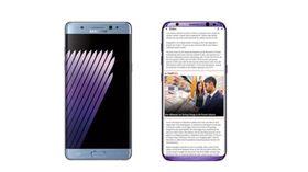 超逆天! 網曝Galaxy S8新配色:紫羅蘭(圖/翻攝陸媒)