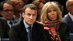 法國,總統,參選,馬卡龍,妻子(圖/美聯社/達志影像)