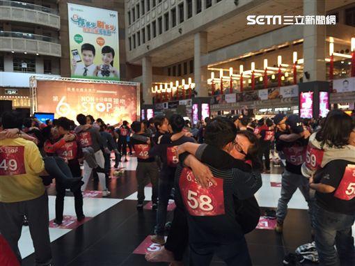 激戰142分鐘!情侶參加接吻大賽 一心只想「趕快結束吧」(圖/微風)