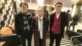 台聯黨主席劉一德與組織部主任張兆林與維吾爾人權領袖熱比婭會面。(台聯提供)