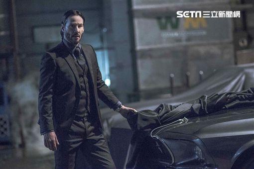 基努李維(Keanu Reeves)《捍衛任務2:殺神回歸》圖/威視提供
