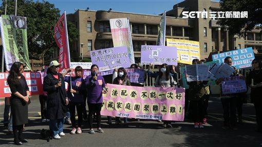 藏配行政院前抗議。記者盧素梅攝