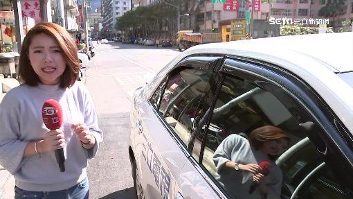 砸電擊棒破車窗 男子疑欠債大街遭押走