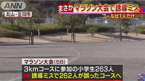 日本,路跑,小學生,逆轉 圖/翻攝自YouTube