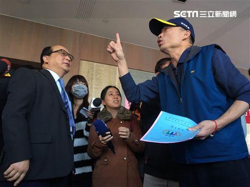 韓國瑜,胡自強,郝龍斌圖/記者陳彥宇攝影